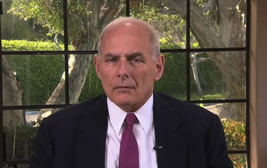 """DHS Secretary Kelly says you should """"probably"""" take Trump """"at his word"""" on Dreamers"""