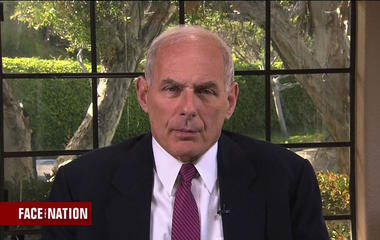 """John Kelly on North Korea: """"They're not much threat right now except in the world of cyber"""""""