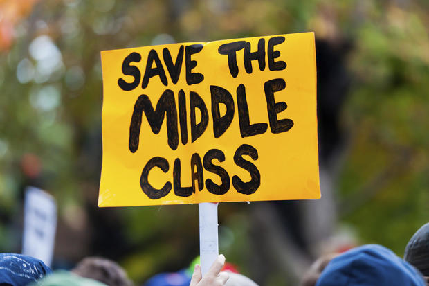 5 signs you re no longer middle class cbs news