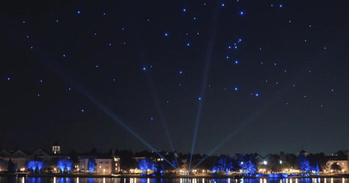 Behind The Making Of A Synchronized Drone Light Show