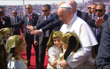Pope Francis concludes his trip to Egypt