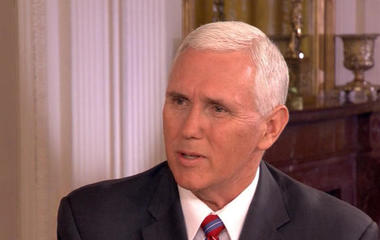 Vice President Mike Pence on the Trump admin's stance on North Korea