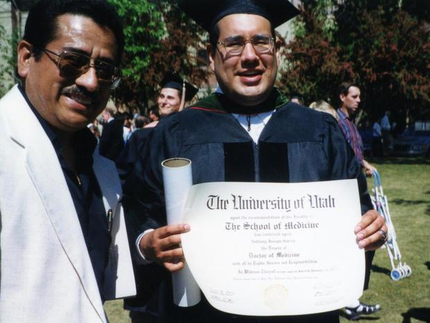 Anthony Garcia graduation photo
