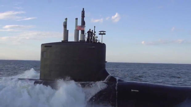 Inside the U S  Navy's newest submarine squad - CBS This