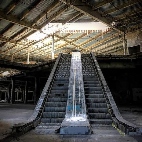 shadows eerie photos of abandoned malls pictures cbs news