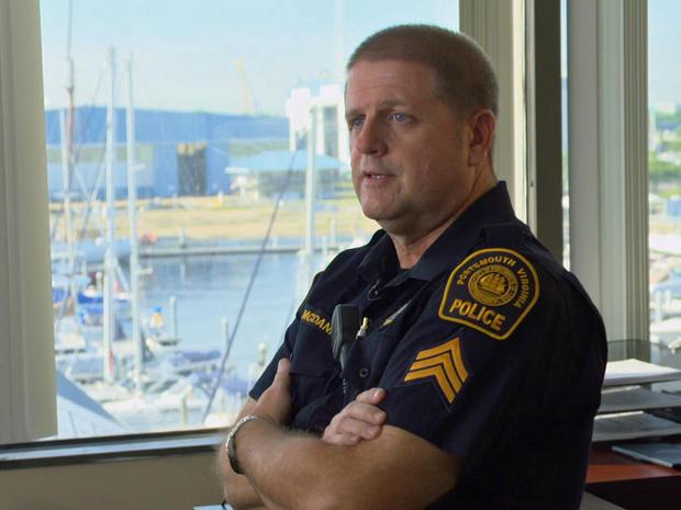 Sgt. Robert McDaniel, Portsmouth Police Dept.