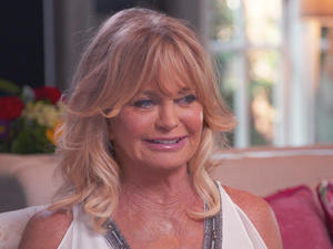 Comedic star Goldie Hawn, in all seriousness