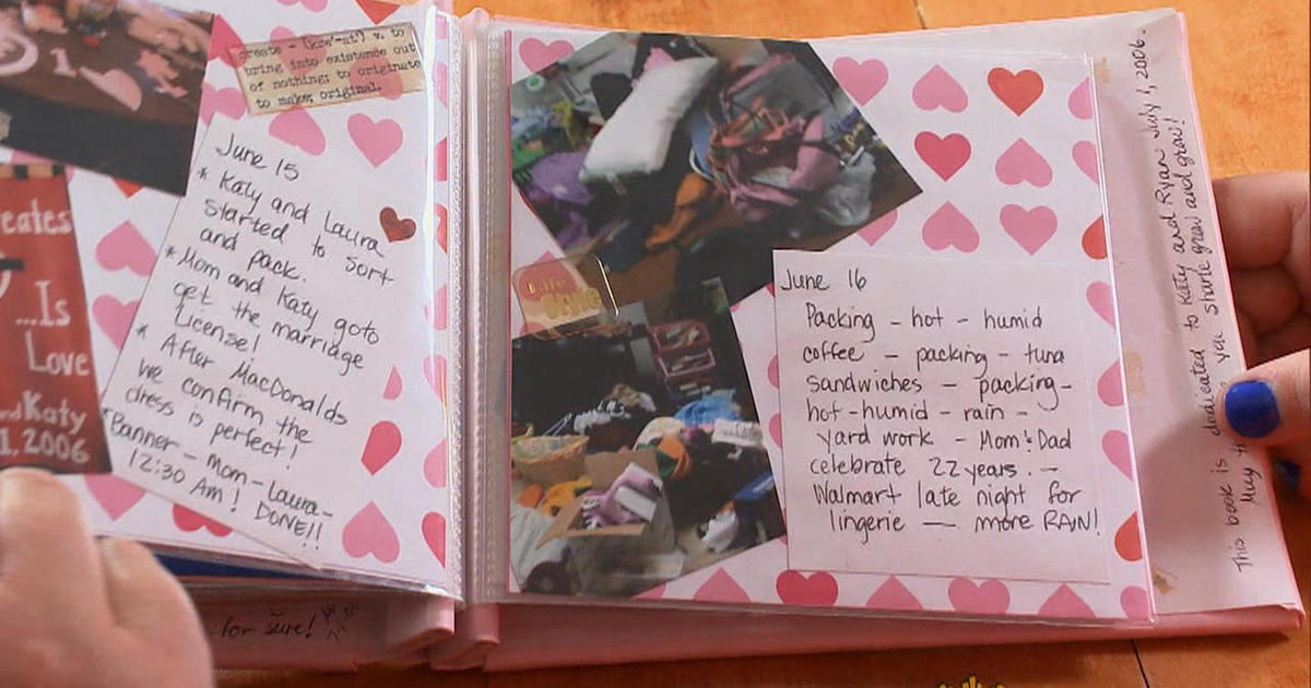 Scrapbooking Opening A Page On The Past Cbs News