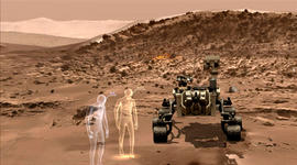 What's it like to be on Mars? Take a virtual-reality tour