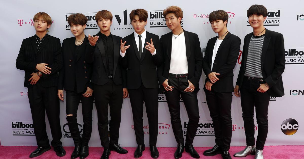 K-pop boy band