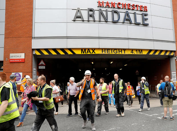 Manchester Arena Terror Attack On Ariana Grande Concert Suicide