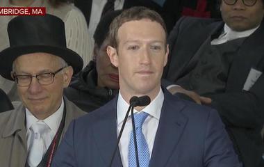 Mark Zuckerberg gives commencement address at Harvard