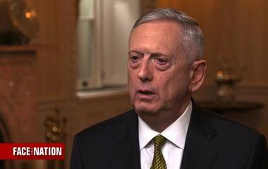 Defense Secretary James Mattis on climate change, Paris accord