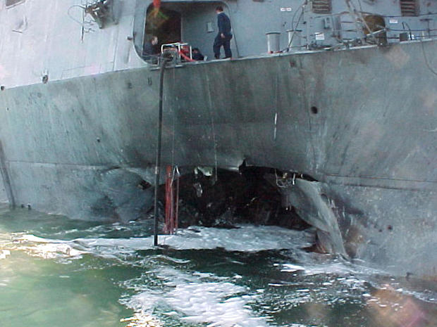 USS Cole damage