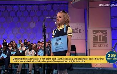 Meet Edith Fuller, the Spelling Bee's youngest contestant in history