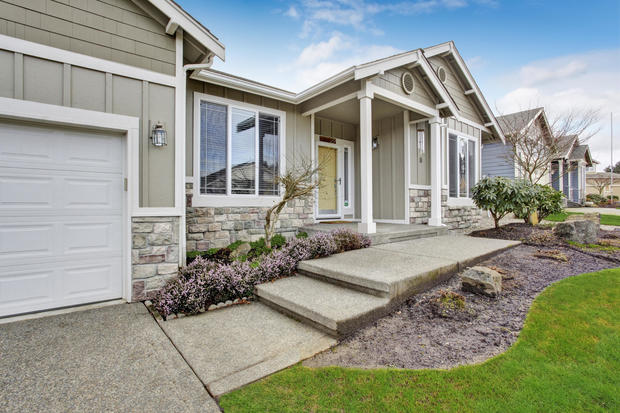 Greige Home Exterior 1 526 7 Paint Colors That Can Boost The Value Of Your Home Cbs News