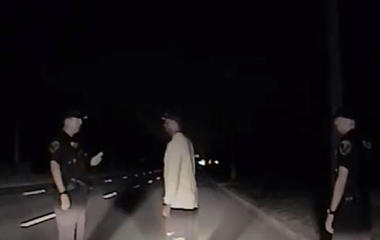 Tiger Woods appears disoriented on police dash cam video