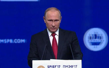 "Vladimir Putin calls election meddling claims ""gossip"""