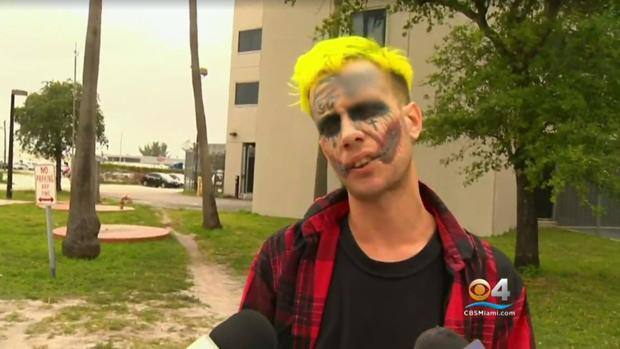 Tattooed Man Who Resembles Joker Arrested Again In Florida