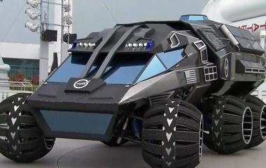 Inside NASA's new Mars rover concept vehicle