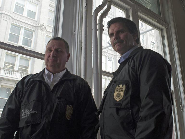NCIS Agents Grebas and Hughes