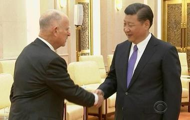 Calif. governor travels to China to spur more investment in renewable energy