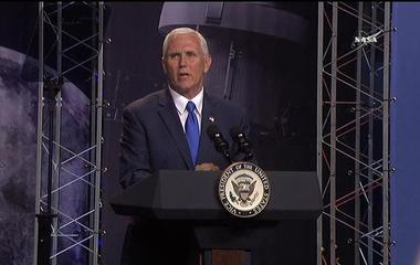 VP Mike Pence welcomes new NASA astronauts