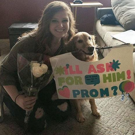 Hes Not Horsing Around Epic Promposals Pictures Cbs News