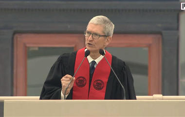 Tim Cook's advice to MIT grads