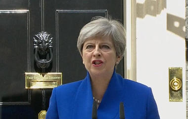 British PM Theresa May's early election backfires