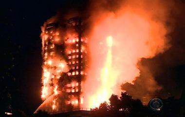 High-rise fire in London kills at least 12, many missing