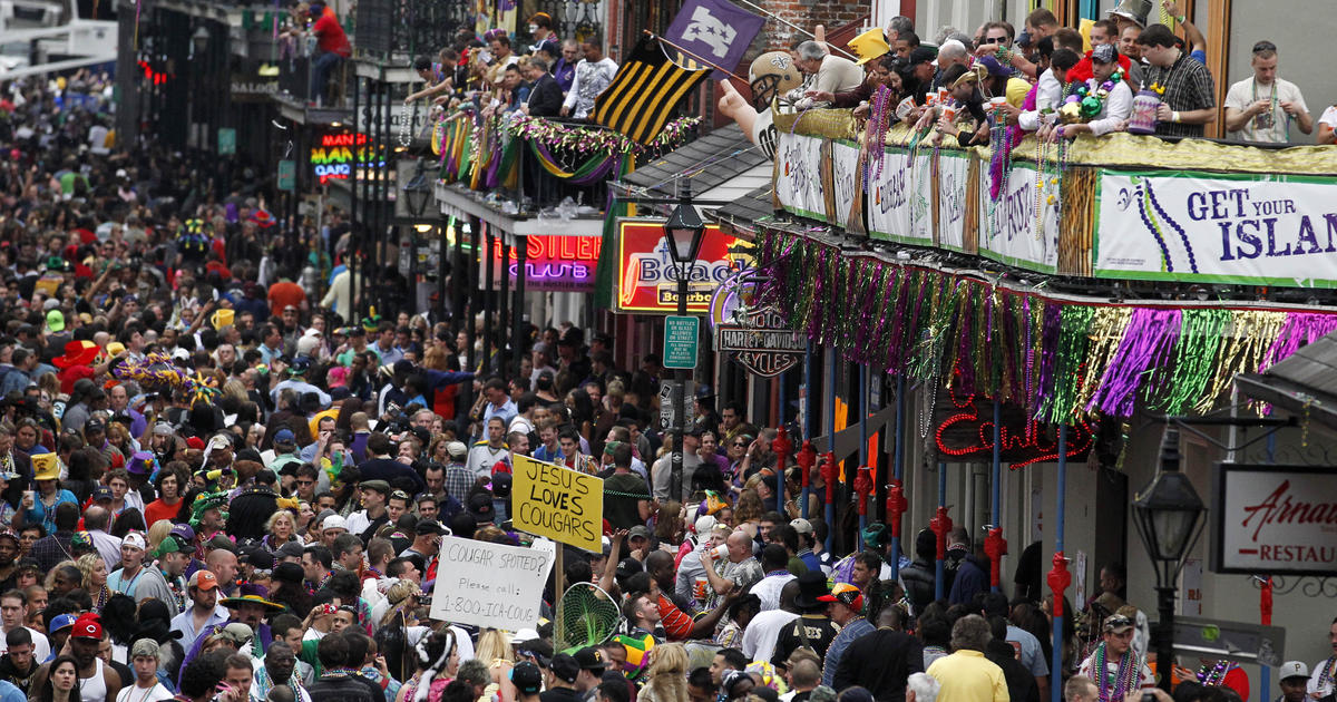 """Coronavirus New Orleans: Mardi Gras would agree with been canceled if Trump gave """"red flags,"""" Mayor LaToya Cantrell says thumbnail"""