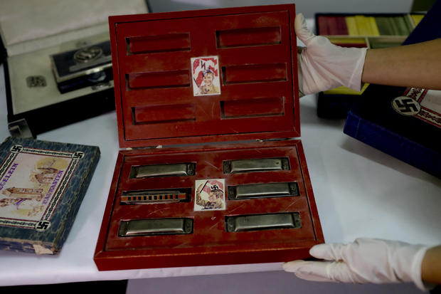 Trove of suspected Nazi artifacts found in hidden room