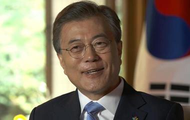 South Korean president on dealing with North Korea and Kim Jong Un