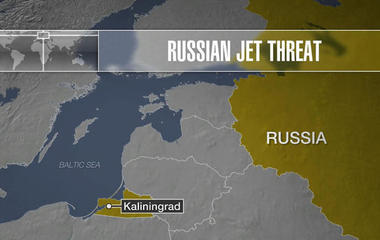 Russian jet intercepts U.S. spy plane over Baltic Sea