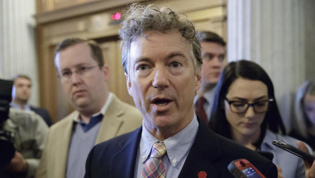 Sen. Paul suffers minor injury in home assault