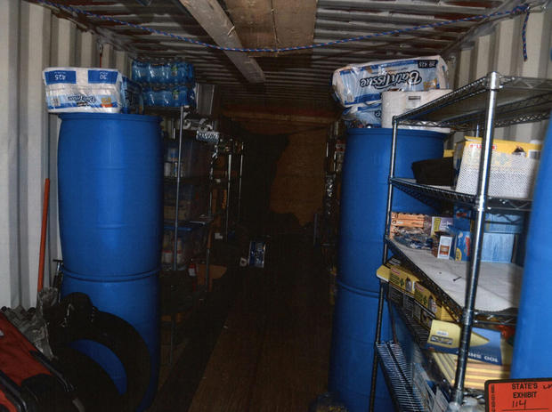 Inside Todd Kohlhepp's storage container used for torture