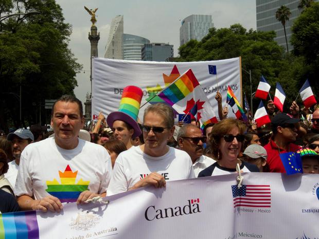 Gay Pride Parades around the world