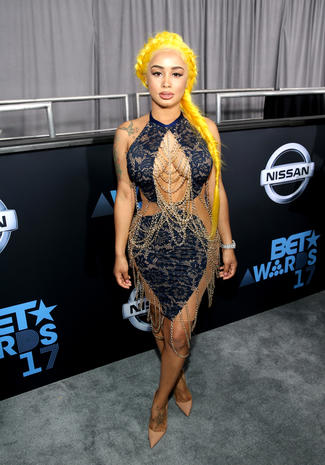 BET Awards 2017 red carpet