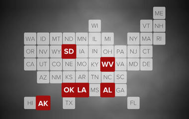 What states would face highest premium hikes if Senate bill passes?