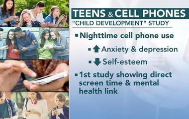 New study links phone use and mental health issues in teens