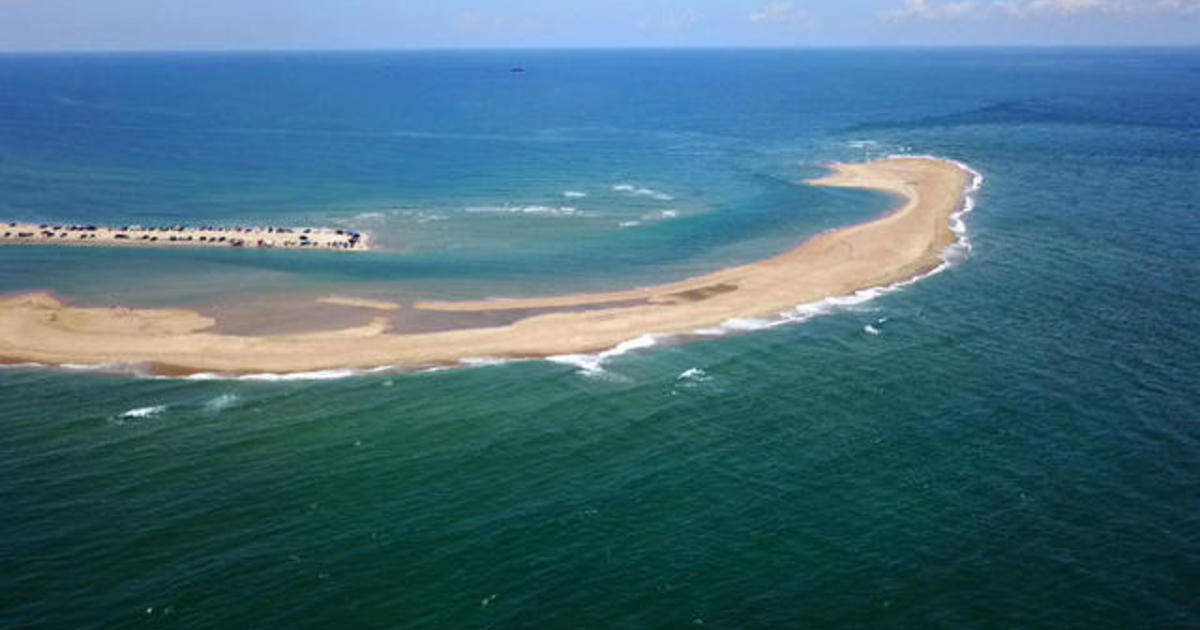 Shelly Island The New Off North Carolina S Outer Banks Cbs News