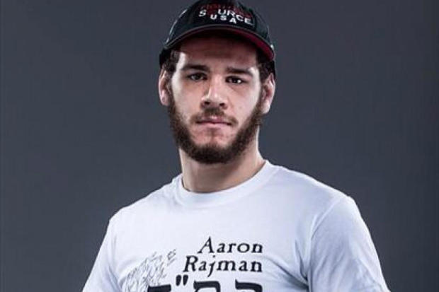 MMA fighter Aaron Rajman is seen in a photo posted to his Facebook page on Oct. 30, 2015.