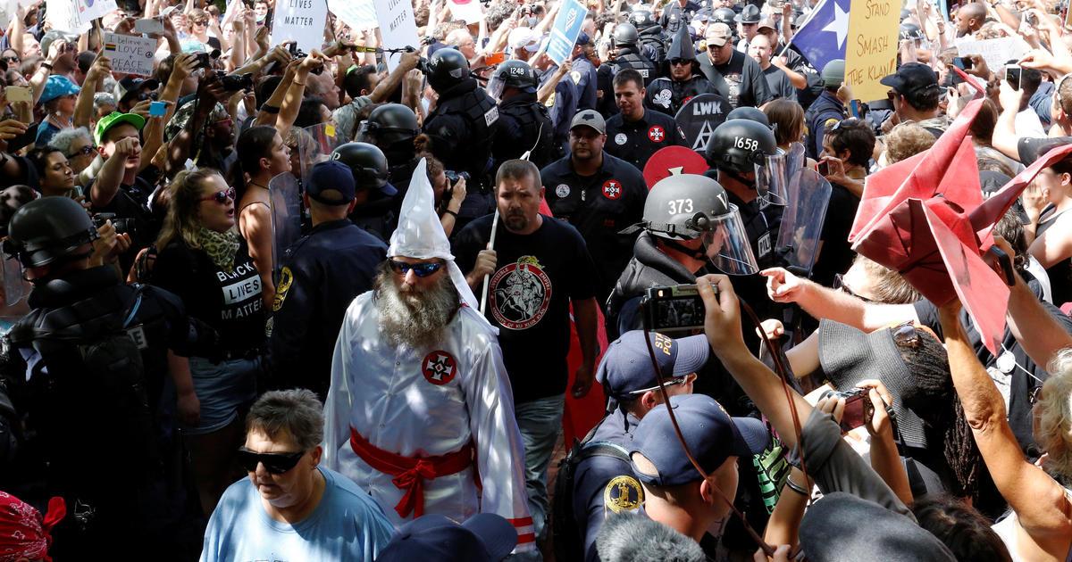 ku klux klan versus neo nazis