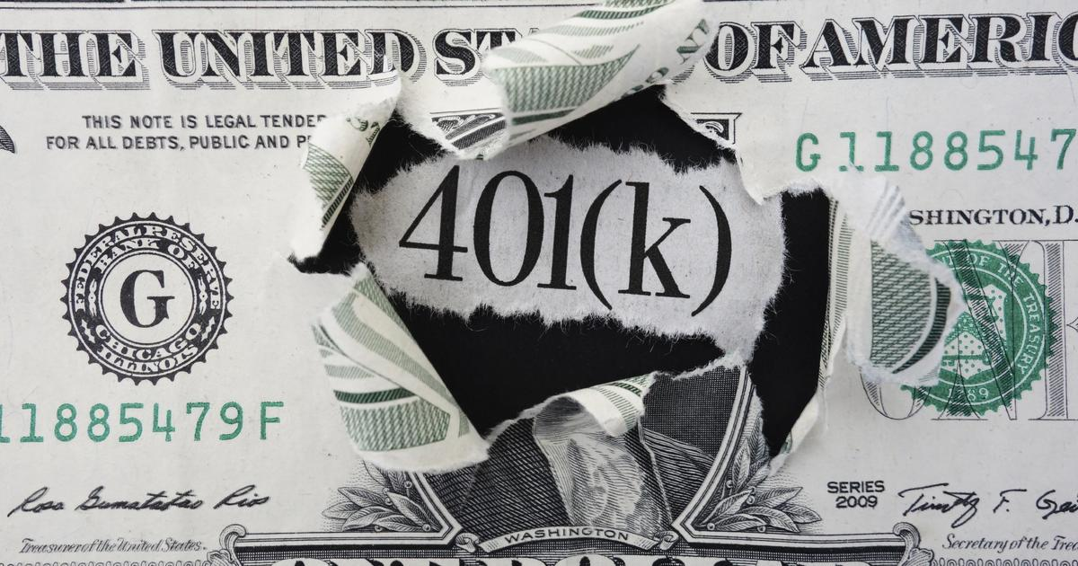 How to pay off debt with a 401(k) loan: Very carefully - CBS