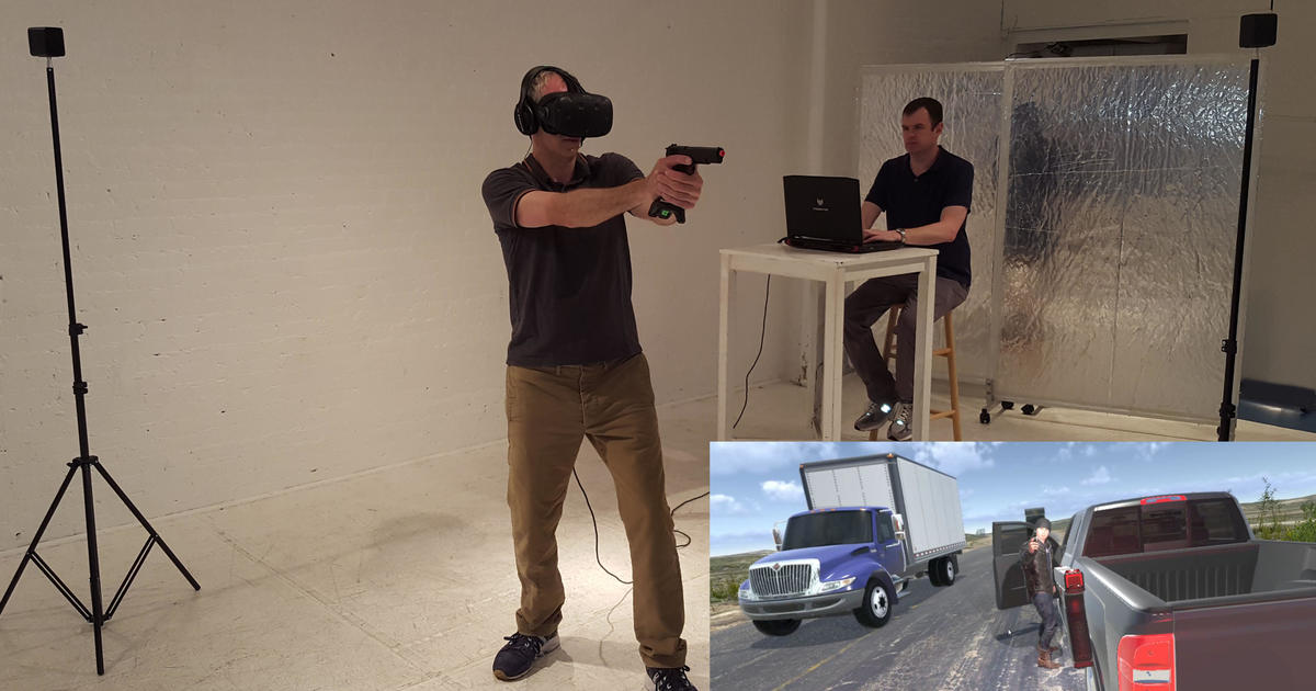 Virtual reality helps reinvent law enforcement training