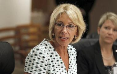 Betsy DeVos rethinks Obama-era guidelines for campus sex assault