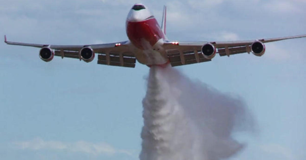 World's largest firefighting aircraft grounded by U S  gov't