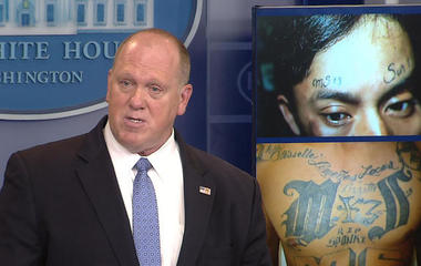 White House focuses on efforts to combat MS-13 gang violence
