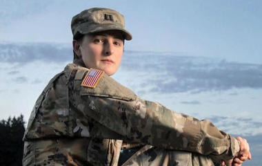 Transgender people can still serve for now, U.S. military says